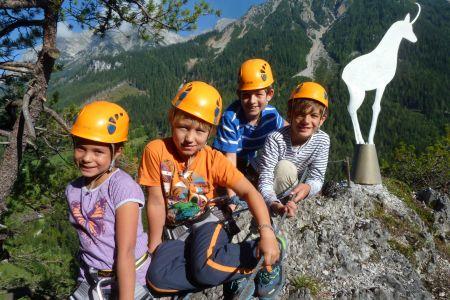 Kinderklettern (c) Ramsau am Dachstein