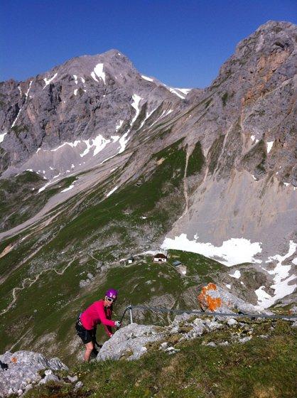 Austria Klettersteig Sinabell Ramsau am Dachstein