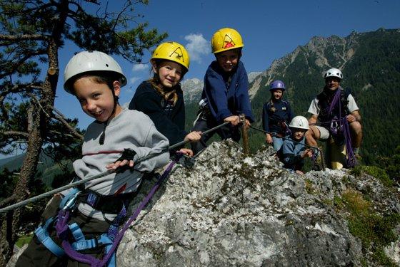 Kinderklettersteig Kali Ramsau am Dachstein