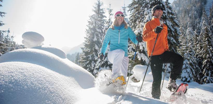 Schneeschuhwandern im Zauchbachtal, © Altenmarkt-Zauchensee Tourismus