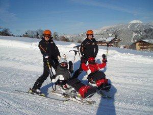 Bi-Skifahren, (c) Schladming