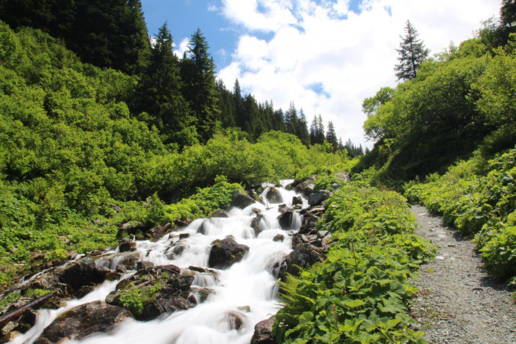 Fluss in Gargellen, (c) Montafon Tourismus