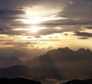 Sonnenaufgangswanderung am Wilden Kaiser