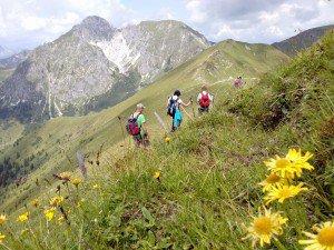 Bergfex Wanderung mit Maria, Hotel Gratz