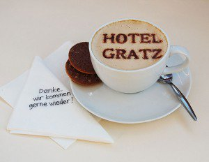 Hotel Gratz, Schlemmerkaffee