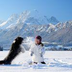 Winterwandern mit Hund in St. Johann in Tirol, (c) Stefan Eisend