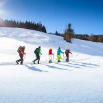Winterliche Schneeschuhwanderung im Großarltal