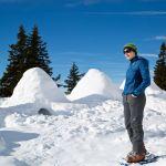Iglubau in den Lienzer Dolomiten, Willi Seebacher