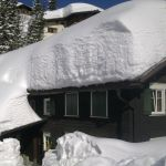 Altes Schnetzerhaus im Winter, Lech-Zürs am Arlberg