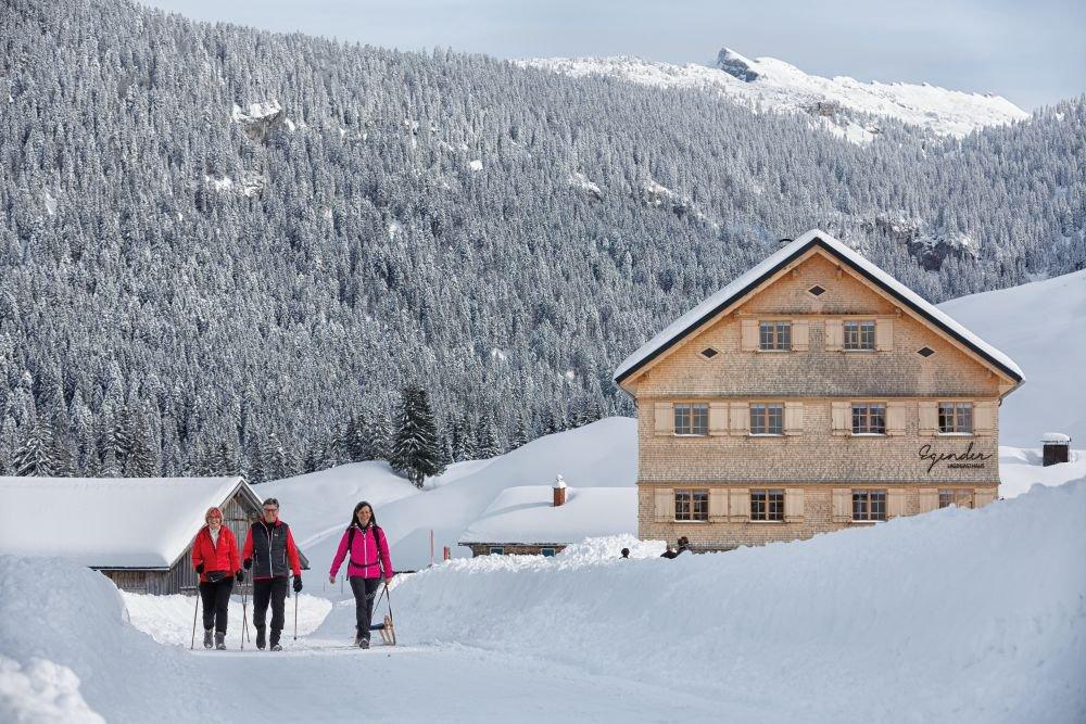 Winterwandern in Schönenbach, (c) Adolf Bereuter