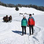 Winterwanderung im Bregenzerwald, Ludwig Berchtold