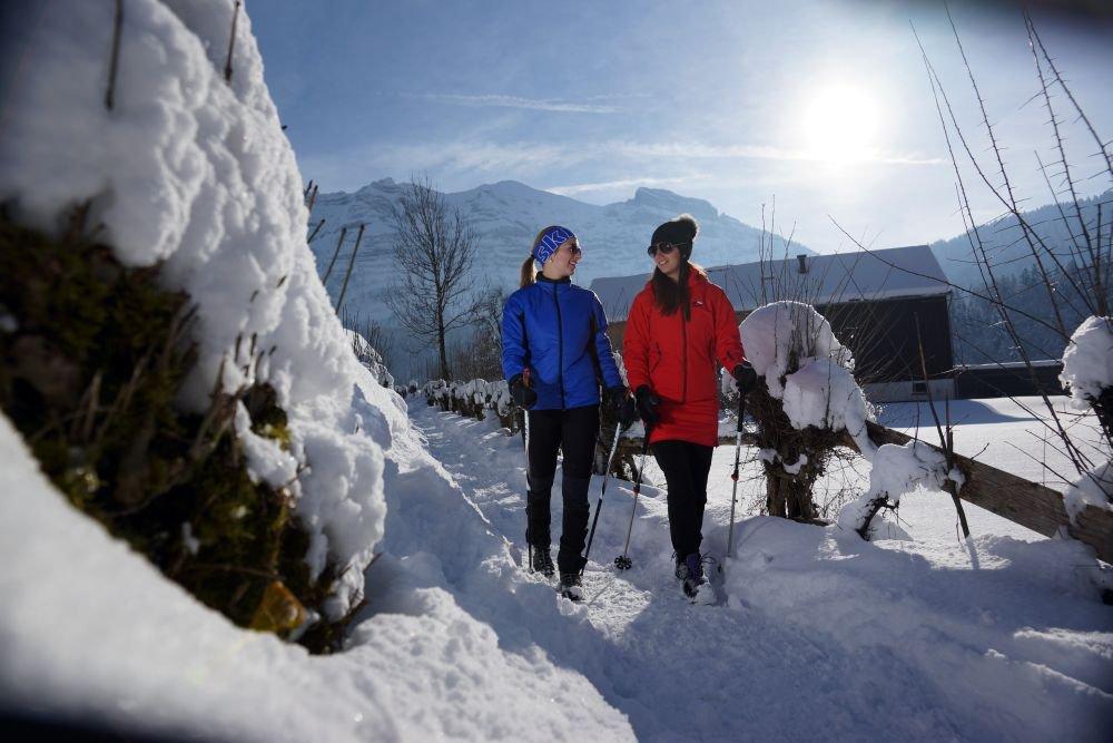 Winterwandern, (c) Ludwig Berchtold