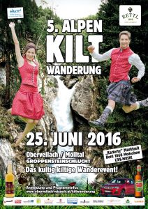 5 kiltwanderung 2016 Plakat