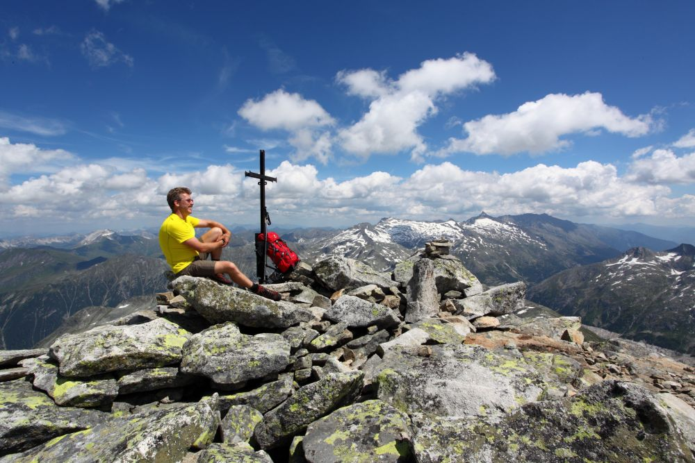 Der Keeskogel ist mit 2.884 m der höchste Berg im Großarltal, © TVB Großarltal