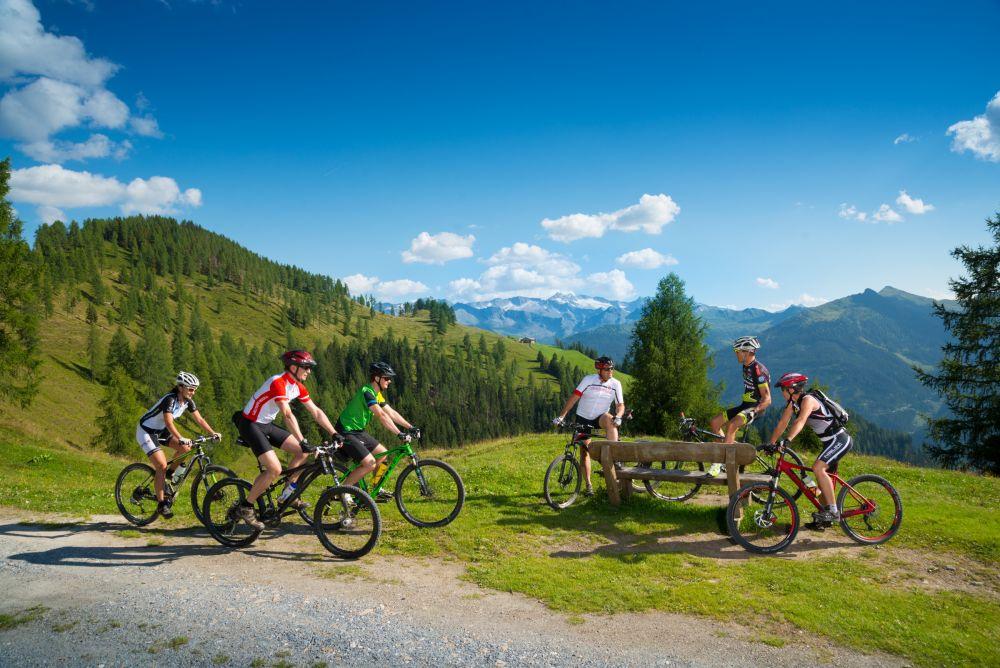 Rund 25 Almen sind im Großarl mit dem Mountainbike erreichbar, © TVB Großarltal