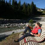 Entspannen am Lechweg, © Lech-Zürs Tourismus