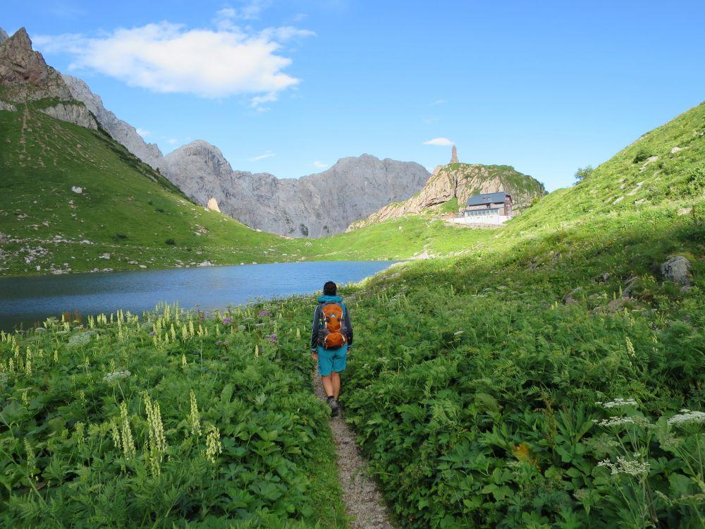 Wanderung zum Wolayersee, © Österreichs Wanderdörfer, Karmen Nahberger