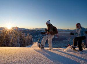 Schneeschuhwandern im Alpbachtal mit Sonnenaufgang, © Alpbachtal-Seenland Tourismus