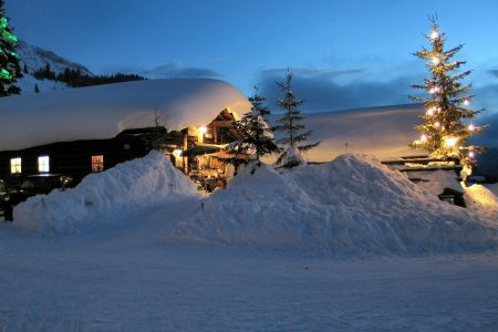 Winterhütte, © Oberhofalm Filzmoos