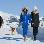 Winterwandern, Im Hintergrund das Kitzbüheler Horn, © Stefan Eisend, TVB Brixental