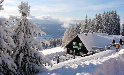 Winterurlaub auf der Tonnerhütte, © Tonnerhütte
