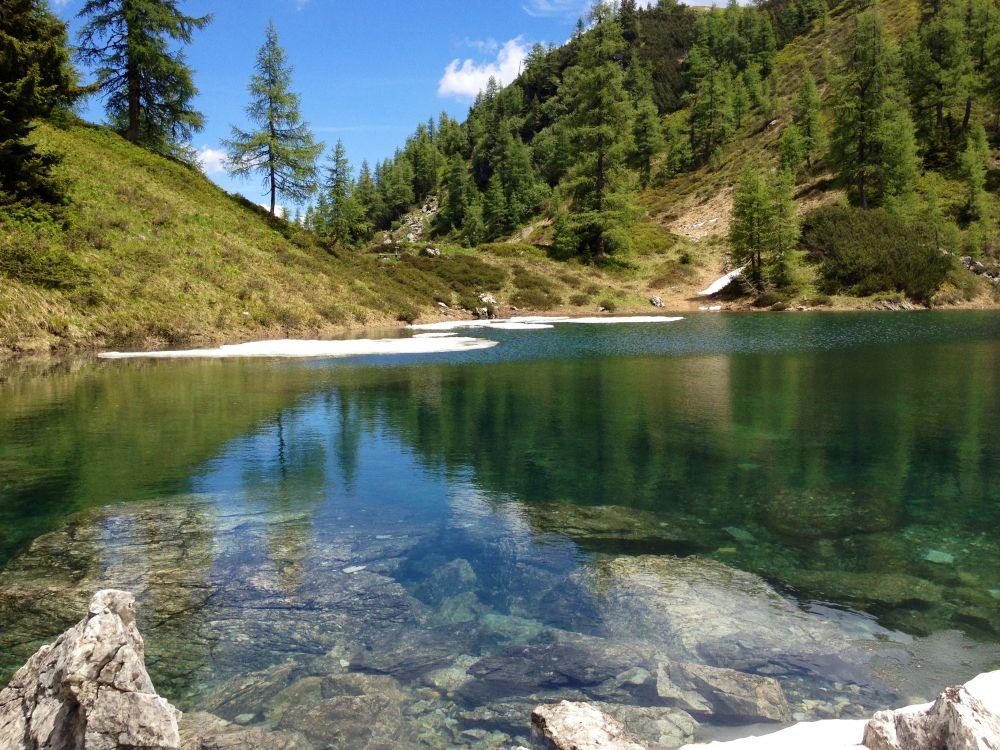Blauer See, © Wagrain-Kleinarl Tourismus