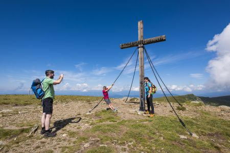 Gipfelkreuz Saualpe, © Franz Gerdl, Regionalmanagement Lavanttal GmbH