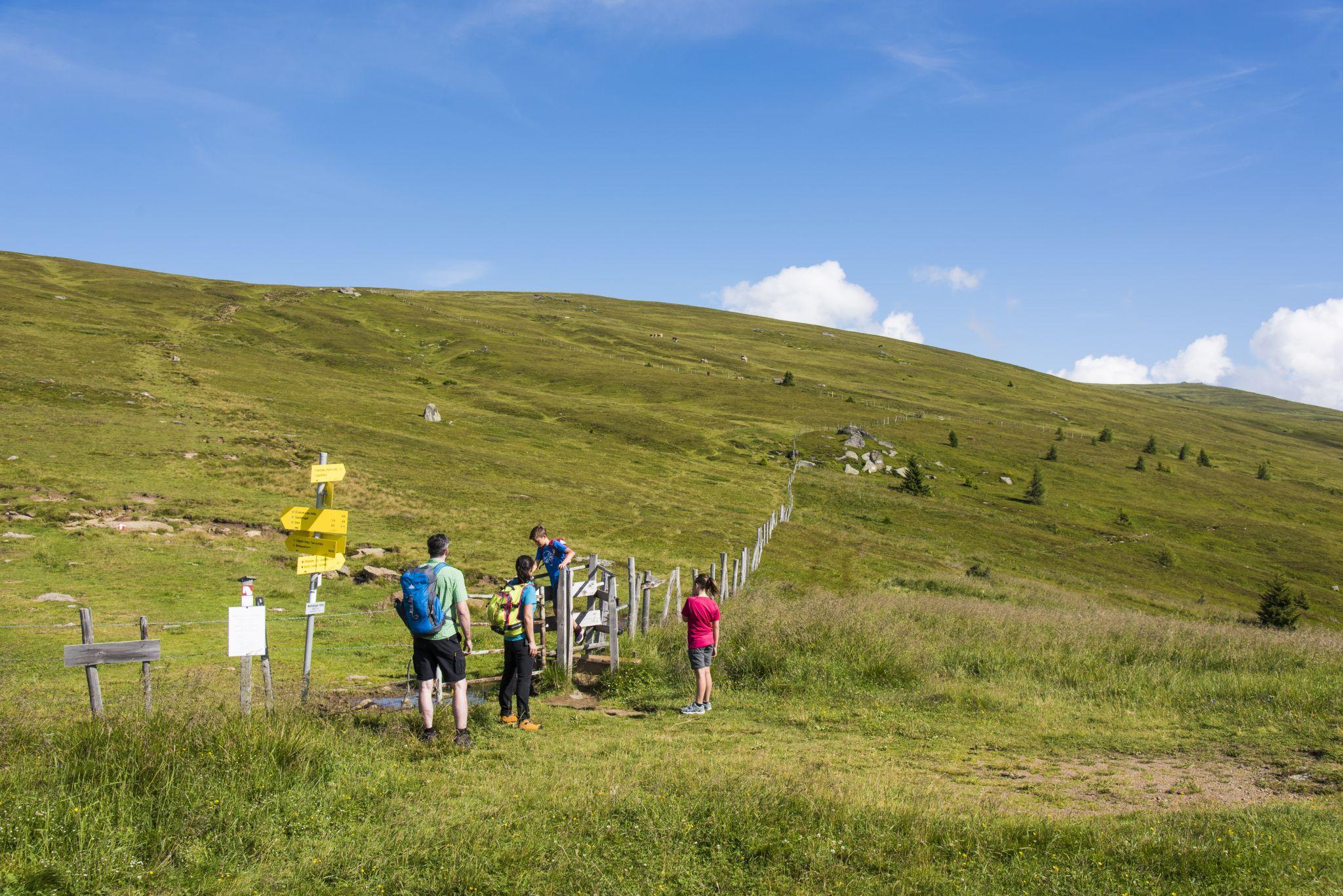Wandern mit der Familie, © Franz Gerdl, Regionalmanagement Lavanttal GmbH