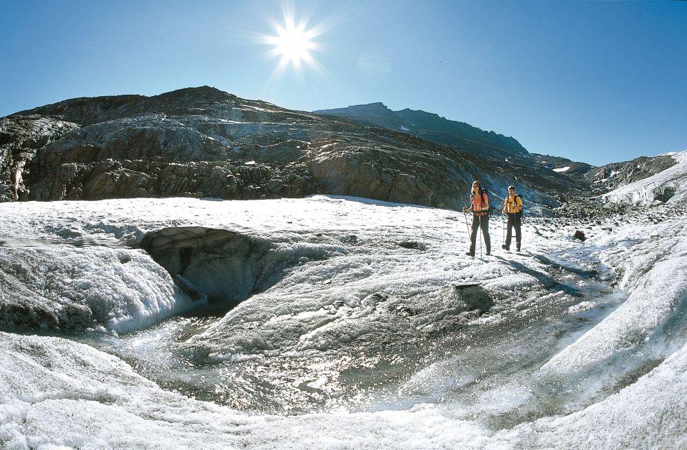 Wanderung am Gletscher, © Ötztal Tourismus, Bernd Ritschel