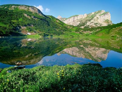Zireiner See im Rofangebirge, © Alpbachtal Seenland Tourismus