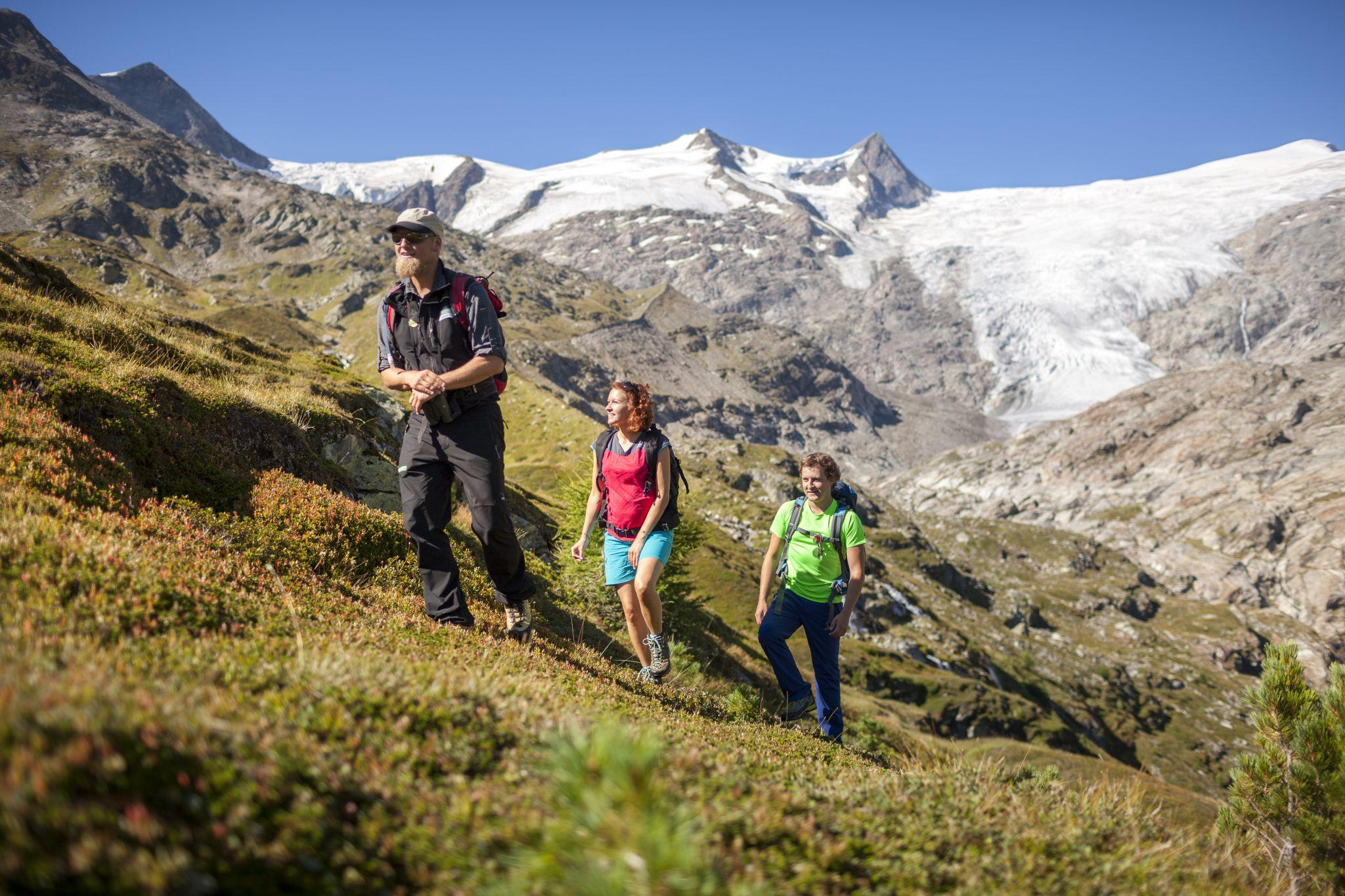 Gletscherlehrweg, © Nationalpark Hohe Tauern, Martin Lugger