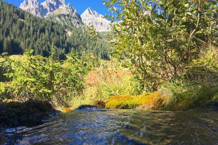 Wasser mit Bischofsmütze, © Filzmoos - Salzburger Sportwelt