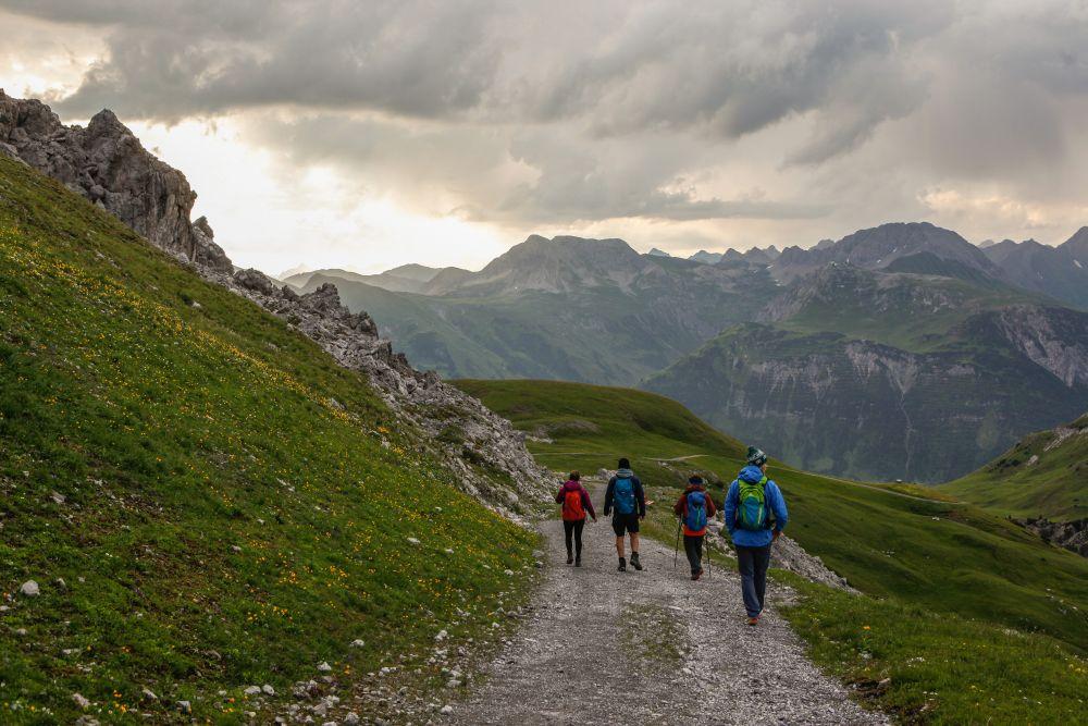Am Rückweg, © Lech Zürs Tourismus GmbH