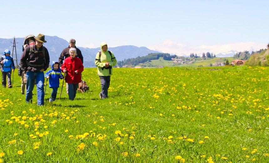 Wanderurlaub mit Familie und Hund, © Tonnerhütte