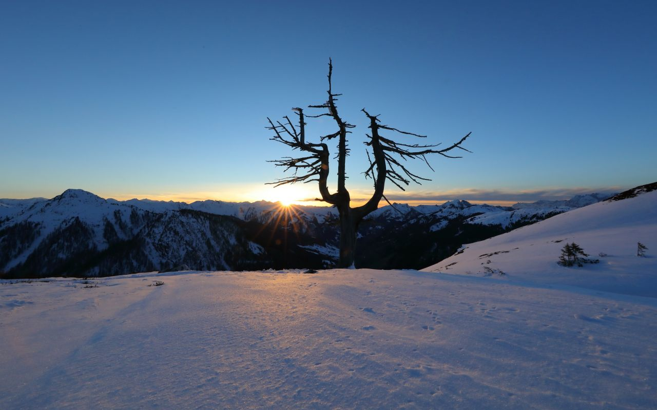 Loosbühelalm im Winter, © www.grossarltal.info