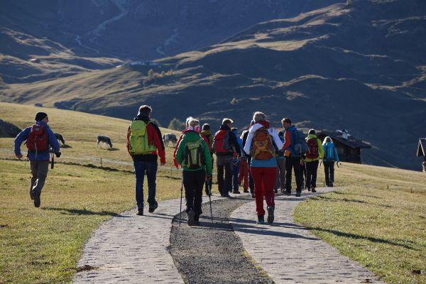 Studienreise Österreichs Wanderdörfer, Schlernüberquerung, © Ulrich Andres