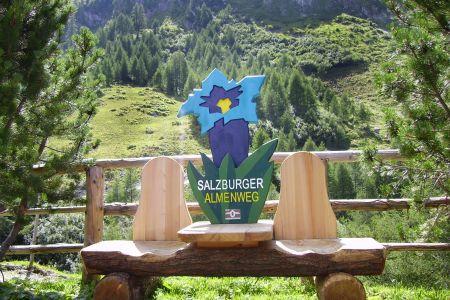 Bank am Salzburger Almenweg, © TVB Radstadt