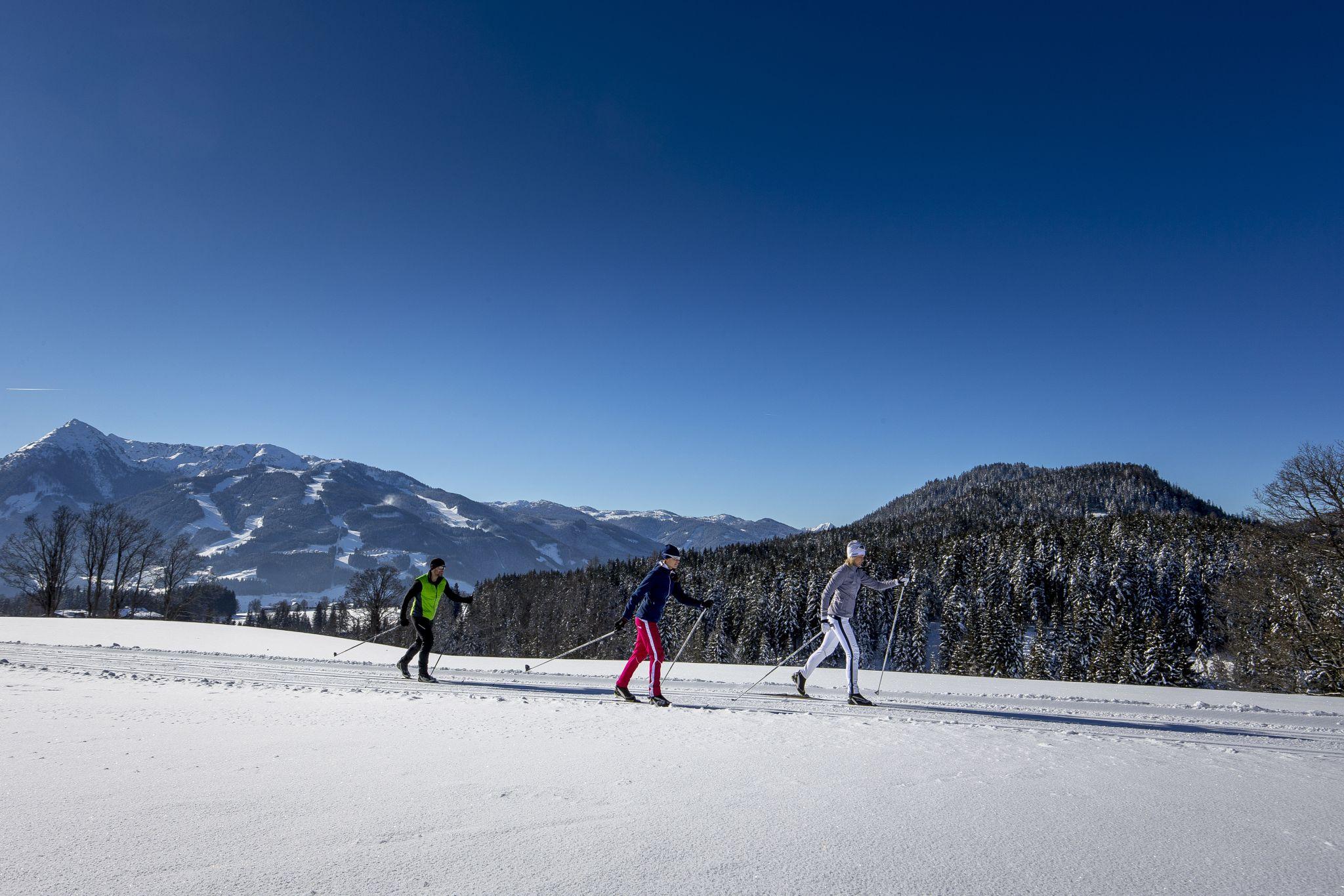 Cross Country Ski Holidays, Langlaufen in Ramsau am Dachstein, © Tom Lamm