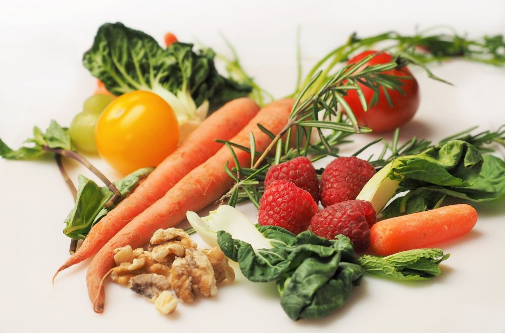 Gemüse, Karotten, Nüsse; pixabay