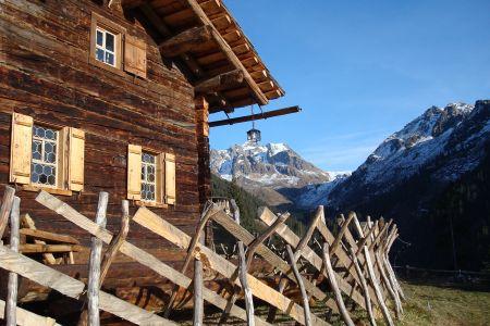Hütte im Montafon, © Montafon Tourismus, Werner Burger