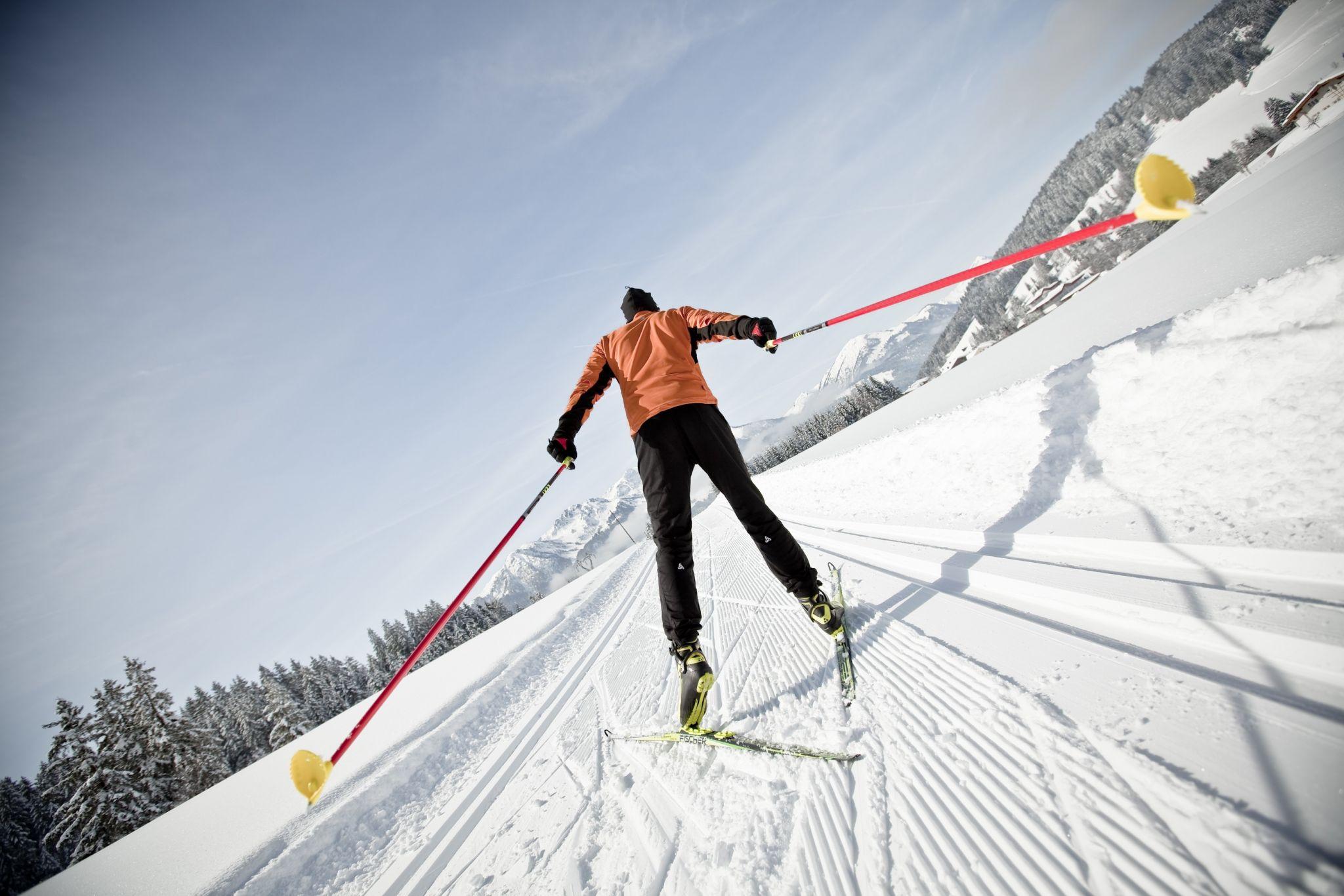Langlaufen im PillerseeTal, © Kitzbüheler Alpen