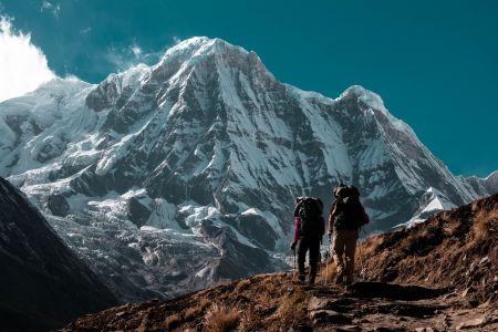 Wandern in den Bergen, unsplash