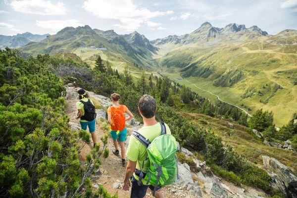 Wanderung über den Gantekopf zur Alp Nova, © Stefan Kothner - Montafon Tourismus GmbH