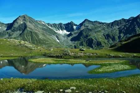 Wannenkarsee am Ötztal-Trek, Ötztal Tourismus
