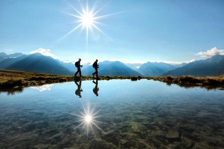 Wandern in Sölden, © Ötztal Tourismus, Isidor Nösig