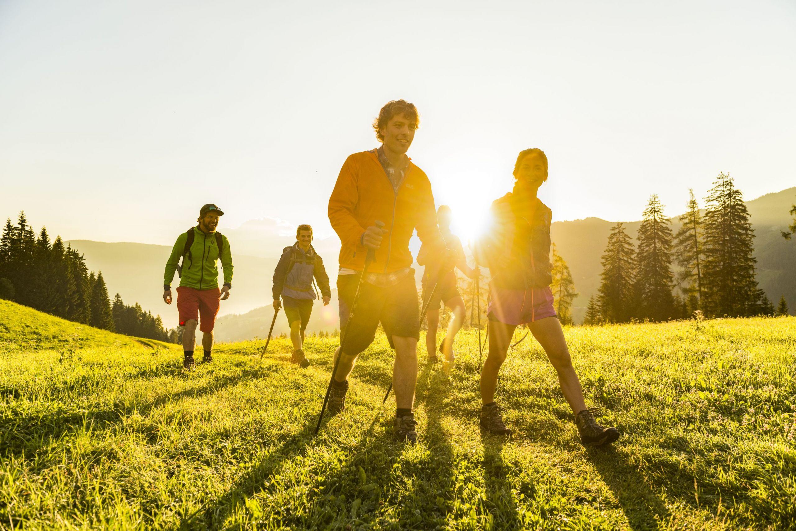 Wandern in der Flachau, © Flachau Tourismus_