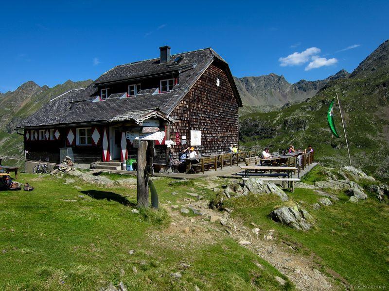 Ignaz-Mattis Hütte in den Schladminger Tauern