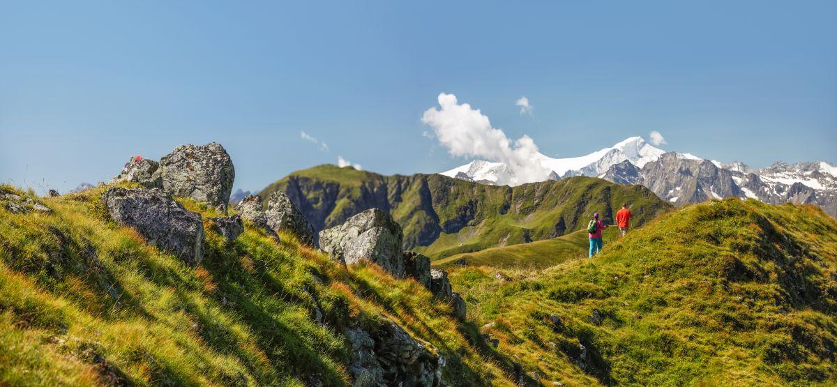 Berge in Saalbach Hinterglemm