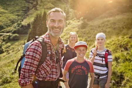 Familienwandern in Saalbach Hinterglemm