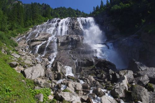 Wasserfall im Ötztal, © Pixabay, Alpelino